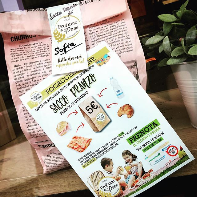 Cari genitori e nonni, per la gita dei vostri ragazzi abbiamo la soluzione perfetta!! solo prodotti freschi, altamente digeribili e farine non raffinate!!E se volete modificarla chiedeteci tutto in fase di prenotazione!  Chiamate al 0110465763, o passate a trovarci tutti i giorni fino alle 19!!#profumodipanerivoli #pranzoalsacco #naturalmentebuono #pizzaaltaglio #farinenonraffinate #rivoli #pranzoveloce #pizza #bread #panecomeunavolta #pranzaconnoi